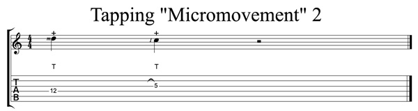 gitar tapping egzersizi (2)